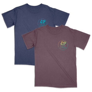 LP on LP Washed Tee