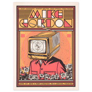 Mike Gordon Port Chester LE Poster