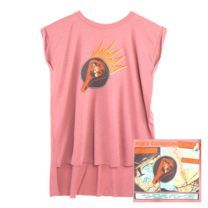 Mike Gordon 2018 Tour Spaceman Women's Muscle Tank on Salmon