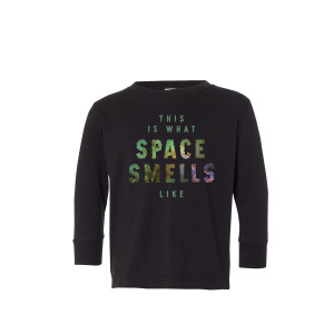 Kids This Is What Space Smells Like NYE 2018 Longsleeve Tee