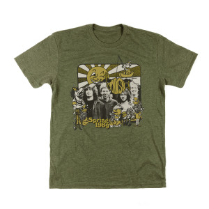 Spring 1989 Tee on Military Green