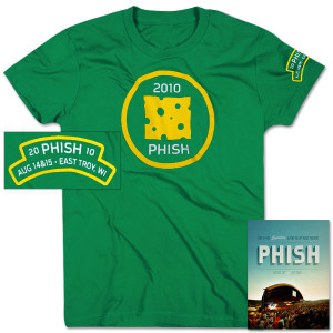 Phish Alpine Valley and Ladies Merit Badge T Bundle