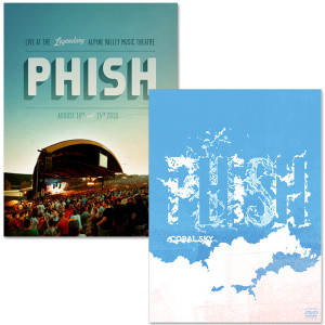 Phish Alpine Valley and Coral Sky Bundle