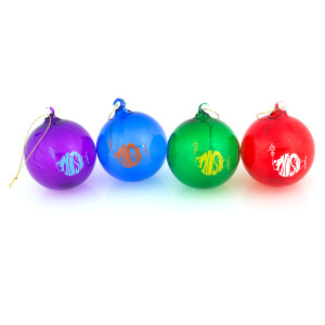 Classic Phish Logo Hand-Blown Glass Ornaments