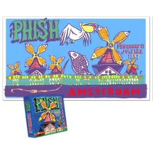 Amsterdam Box Set & LE Jim Pollock Poster