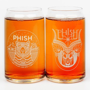 Faux-Can Pint Glass Set