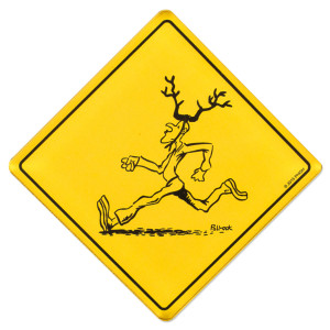 Pollock Antelope Magnet