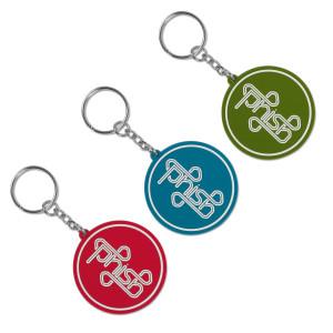 Puck Keychain