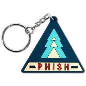 Tri-Pine Keychain