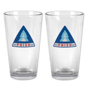 Tri-Pine Pint Glass (Set of 2)