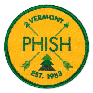 Phish Camp Patch