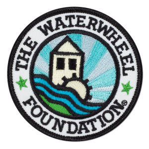 WaterWheel Logo Patch