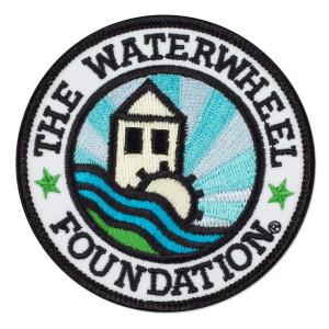 WaterWheel Logo Patch