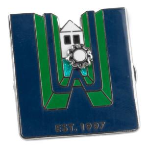 15th Anniversary WaterWheel Pin