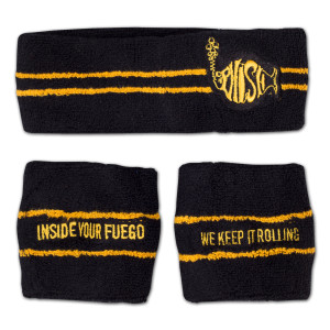 Fuego Headband/Wristband Set