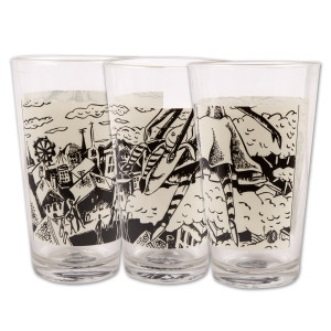 Pollock Esther Pint Glass