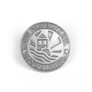 WaterWheel Logo Pin