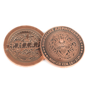 Limited Edition Summer Tour 2015 Show Coin
