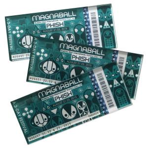 Magnaball Ticket Magnet