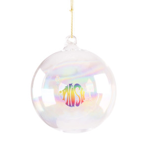 Rainbow Logo Ornament