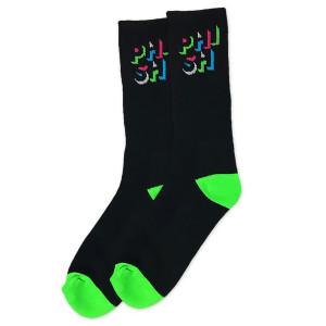 Color Block Logo Socks