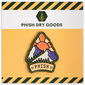 Colorado Arrowhead Enamel Pin