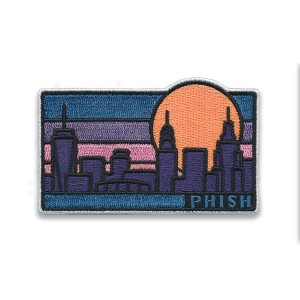 NYC Skyline New Year's Run Patch