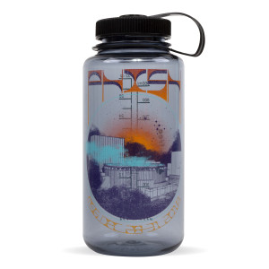 Dusty Garden New Year's Run Nalgene Bottle