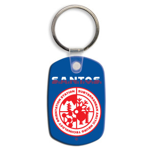 S.A.N.T.O.S. Squeezable Keychain