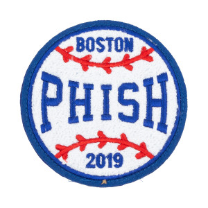 "Round Ball 2019 Boston 5"" Chenille Patch"