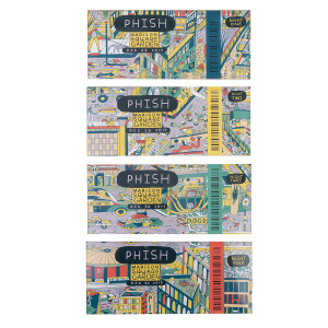New Year's Run 2019 Ticket Magnets