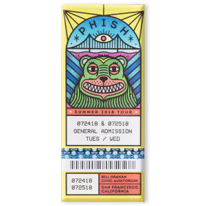 San Francisco Ticket Magnet