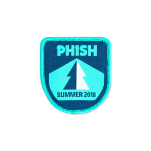 Phish Summer Tour 2018 Patch Pack
