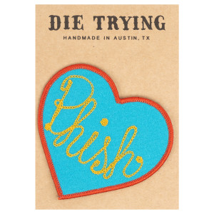 Chainstitch DieTrying TX x Phish Felt Patches