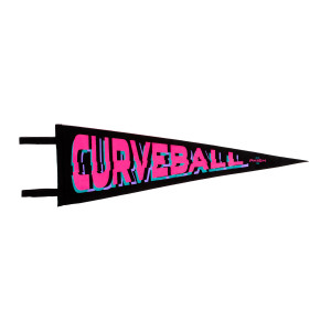 Curveball Oxford Pennant