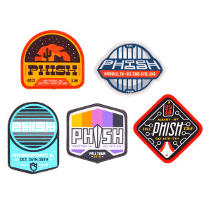 Fall Tour Event Patches