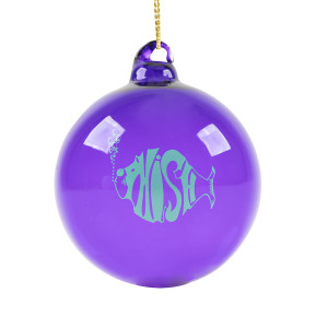 Classic Phish Blown Glass Ornament