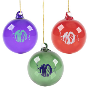 Classic Phish Blown Glass Ornament