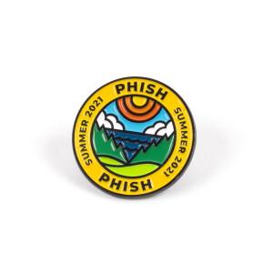 Phish x DDC Summer Tour 2021 Lapel Pin