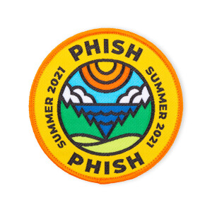 Phish x DDC Summer Tour 2021 Patch
