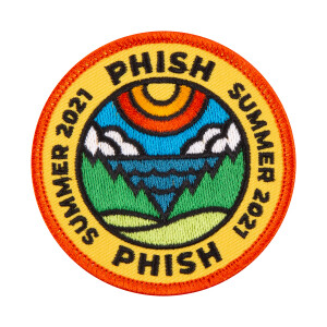 DDC x Phish Summer 2021 Tour Patch (Embroidered)