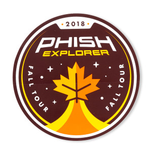 Fall Explorer Sticker