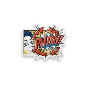 Phish Bubble Gum Pop Sticker