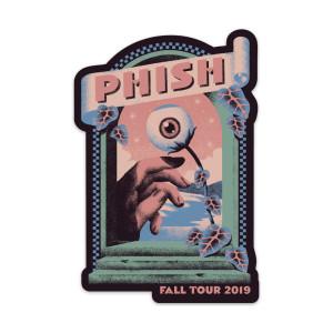 All Seeing Eye Fall Tour Sticker