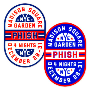 Hockey Rink NYE 2019 Sticker