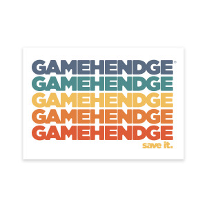 Save Gamehendge Sticker