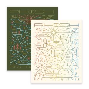 Follow The Lines Fall Tour Sticker