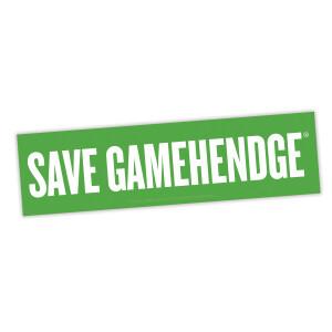 Save Gamehendge Sticker