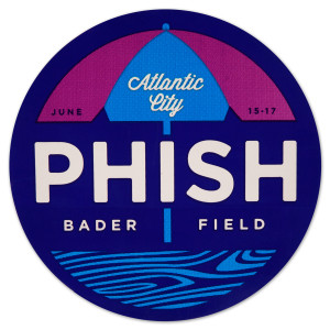 Phish Bader Field Sticker