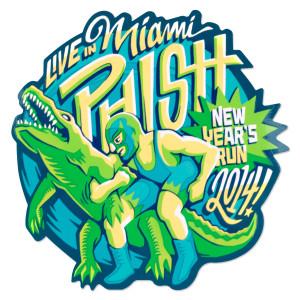 Gator Wrestlin' New Year's Run Sticker
